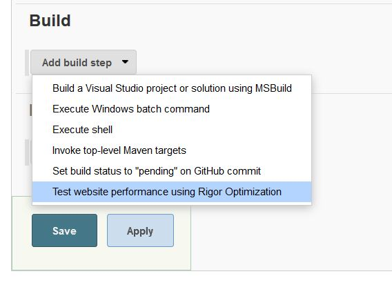 How Do I Run Optimization Tests From A Jenkins Build? – Rigor